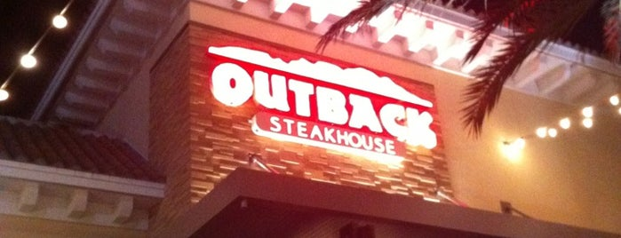 Outback Steakhouse is one of Miami.