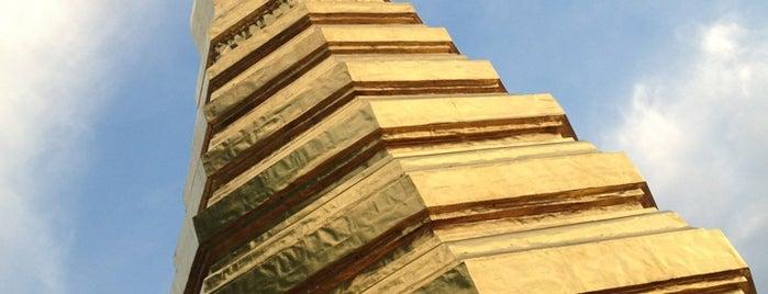 Wat Prathat Cho Hae is one of ไหว้พระธาตุปีเกิด 12 ปีนักษัตร เสริมบารมี.