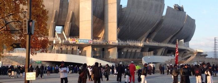 Nagano Olympic Stadium is one of Japan Baseball Studium.