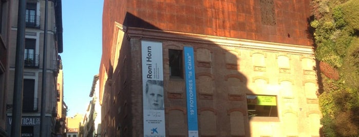 CaixaForum Madrid is one of Madrid cultural.