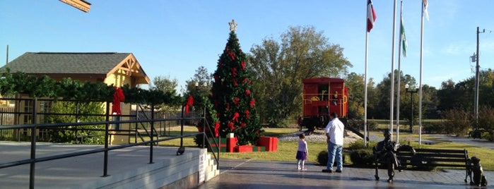 Tomball Railroad Depot, Plaza & Gazebo is one of Some where in Tomball, Texas.
