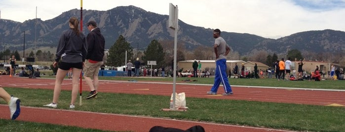 Potts Field is one of CU Boulder Buff-A-Hop.