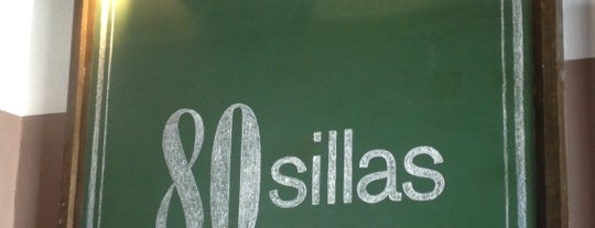 80 Sillas is one of Restaurantes visitados.