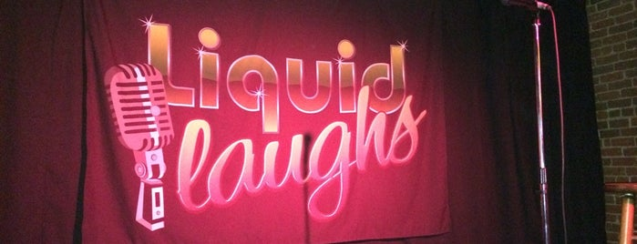 Liquid Laughs is one of The best after-work drink spots in Boise, ID.