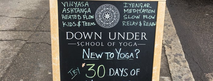 Down Under Yoga is one of Interesting Items to Check Out.
