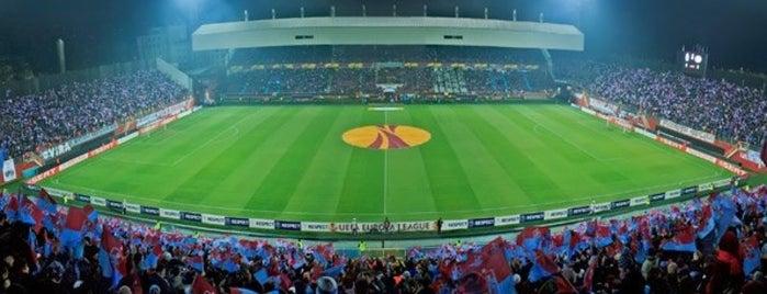 Hüseyin Avni Aker Stadyumu is one of Trabzon.