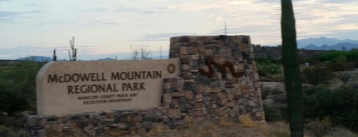 McDowell Mountain Regional Park is one of Maricopa County Parks.