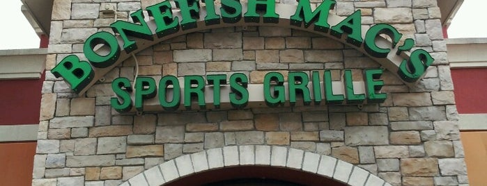 Bonefish Mac's Sports Grille is one of favorite restaurants.
