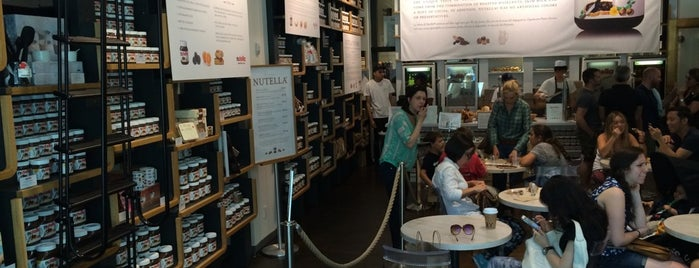 Nutella Bar @ Eataly is one of New York 2014.