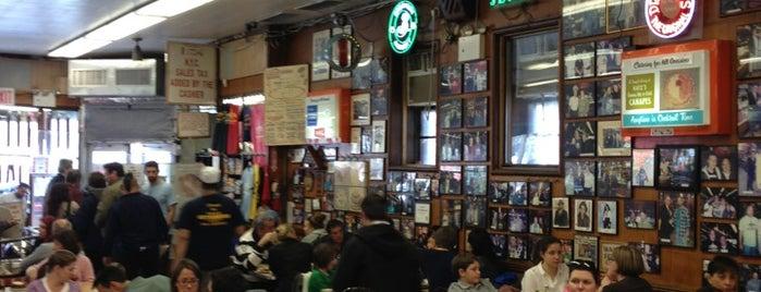 Katz's Delicatessen is one of Coffee Places NYC.