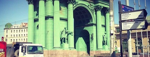 Универмаг «Кировский» is one of Торговые центры в Санкт-Петербурге.