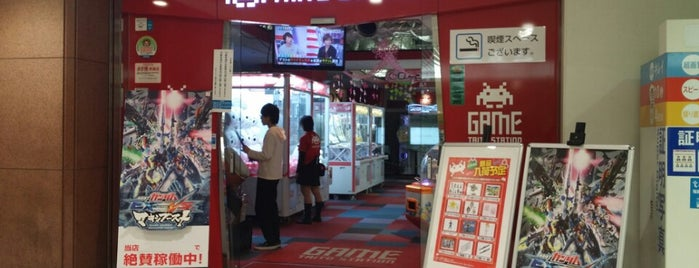 Taito Station is one of QMA設置店舗(東京区部山手線外).