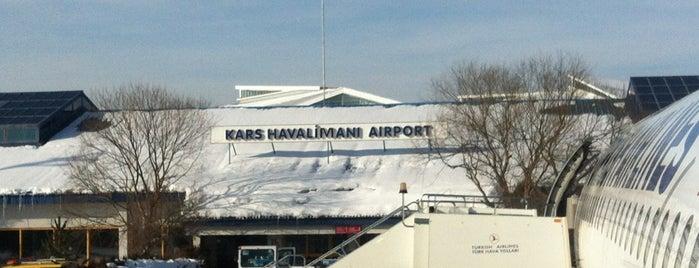 Kars Harakani Airport (KSY) is one of Airports in Turkey.