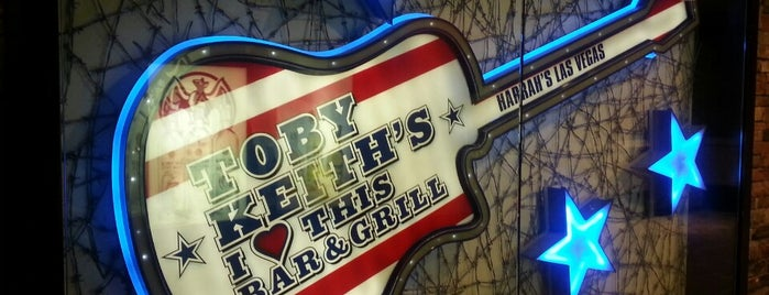 Toby Keith's I Love This Bar & Grill is one of Las Vegas City Guide.