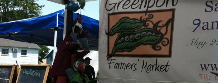 Greenport Farmers Market is one of Greenport.