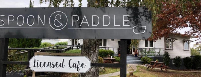 spoon & paddle is one of NZ.
