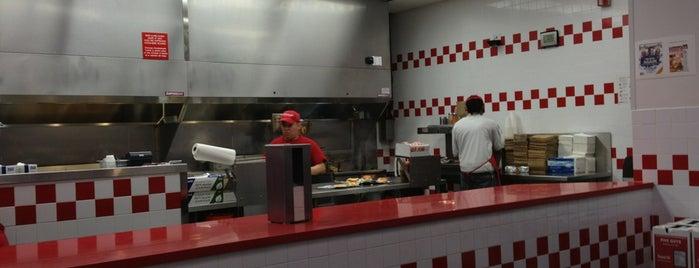 Five Guys is one of Favorite Restaurants.