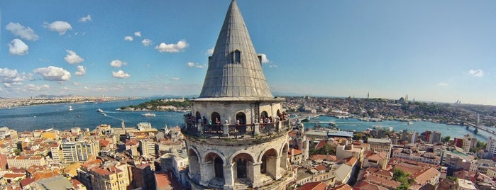Galata Tower is one of 10 Local Things to Do in Istanbul.