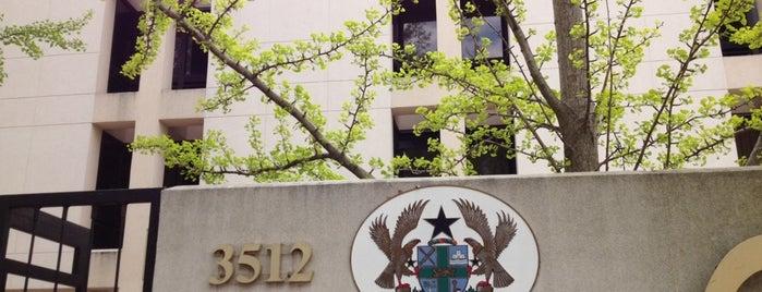 Embassy of Ghana is one of Members.