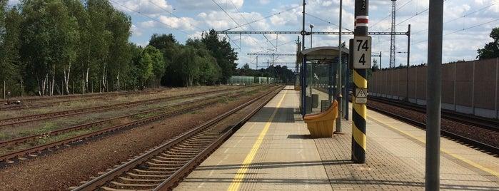 Železniční stanice Planá nad Lužnicí is one of Železniční stanice ČR: P (9/14).
