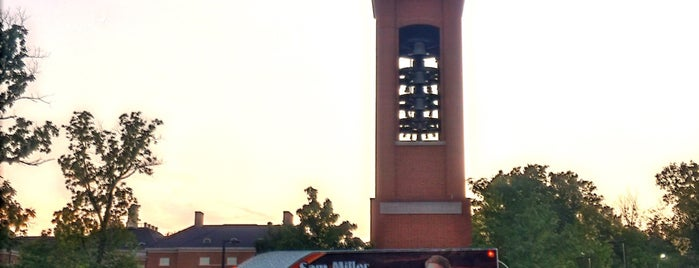 Verlin L. Pulley Tower is one of Miami U.