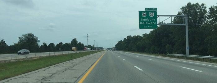 Interstate In Ohio - Map of us 70 exit 33 in ohio