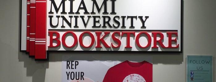 Miami University Bookstore is one of Miami U.