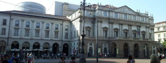Teatro alla Scala is one of Italy.