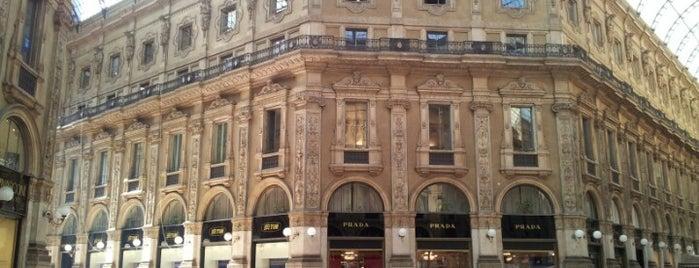 Galleria Vittorio Emanuele II is one of Italy.
