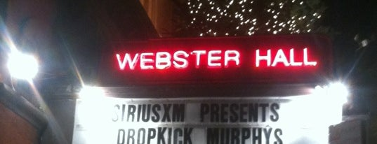 The Studio at Webster Hall is one of Music Venues.