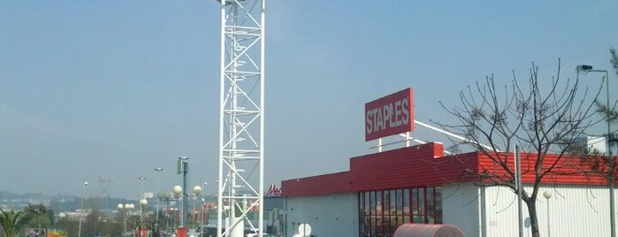Staples is one of braga.