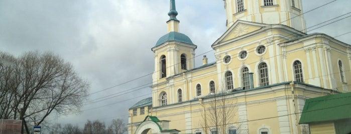 Церковь Спаса Нерукотворного Образа is one of Лобня.