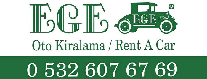 EGE Oto Kiralama/Rent A Car Fahrettin Altay Teslimat Noktası is one of EGE Oto Kiralama/Rent A Car Alsancak Şubesi.