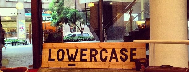 Lowercase is one of Cafes To Visit!.