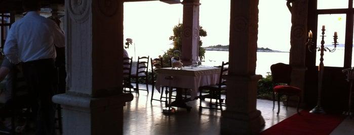 Restaurant Lanterna is one of Istrien.