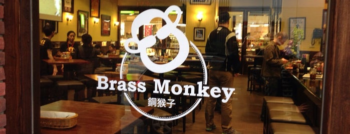 The Brass Monkey is one of Bars & pubs (Бары и пабы).