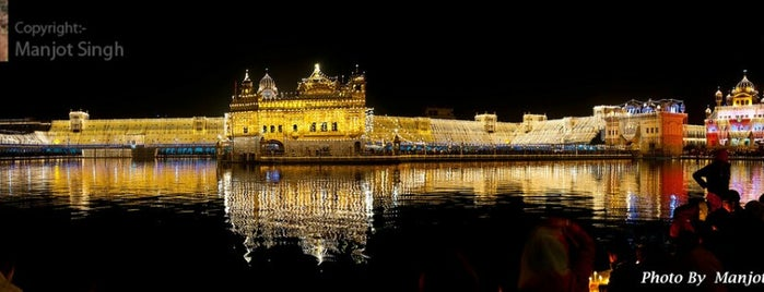 The Golden Temple (ਹਰਿਮੰਦਰ ਸਾਹਿਬ) is one of 60 Landmarks You Must See Before You Die.
