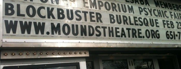 Mounds Theatre is one of Historian.
