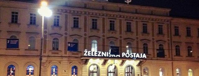 Ljubljana Train Station is one of Terminais!.