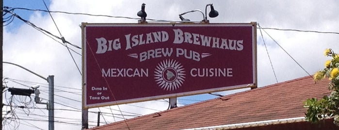 Big Island Brewhaus is one of Hawaii 2016.