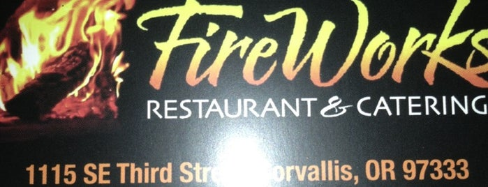 Fireworks Restaurant & Bar is one of Live Music in Corvallis, Oregon.