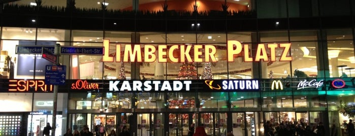 Einkaufszentrum Limbecker Platz is one of My E-Town.