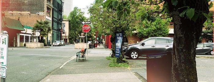 Old Town/Chinatown Neighborhood is one of Portlandia.