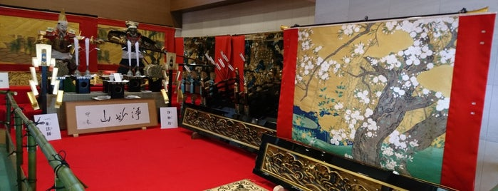 浄妙山保存会 is one of Sanpo in Gion Matsuri.