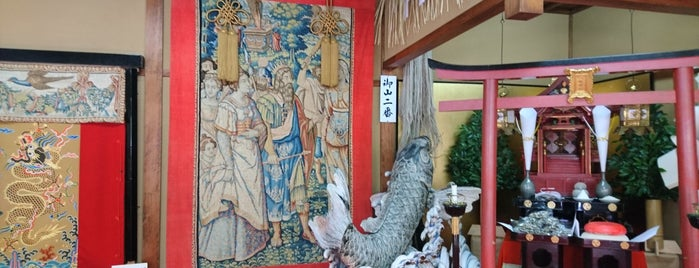 鯉山保存会 is one of Sanpo in Gion Matsuri.
