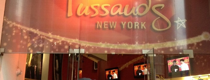 Madame Tussauds is one of USA NYC MAN Midtown West.