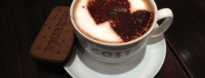 Costa Coffee is one of Dining at Gatwick Airport North Terminal.