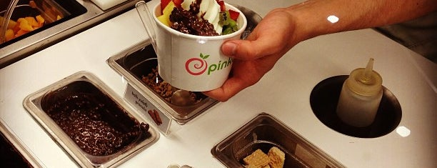 Pinkberry is one of Rugi.