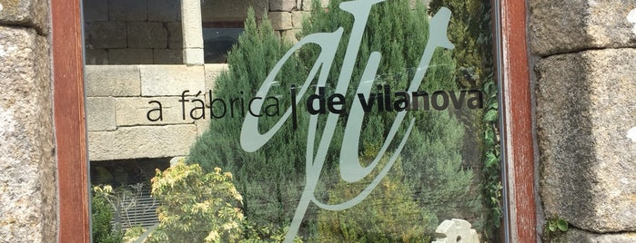 A fabrica de vilanova is one of Restaurantes Ourense.