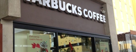 Starbucks is one of Querétaro.